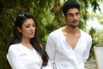Prateik Babbar, Paoli Dam on the sets of bilingual film by Aroni Taukhon in Mumbai on 20th May 2014 (72)_537cc86cb85f8.JPG