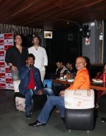 Ravi Behl, host and composer Raju Singh, Jaaved Jafferi and Naved Jafferi at the Boogie Woogie karaoke at Rude Lounge, Bandra_537cb4e426e33.jpg