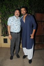 Tony Singh with Ashish Chaudhary at Ek Mutthi Aasmaan TV Serial celebration party in Mumbai on 20th May 2014_537cb599416a7.JPG