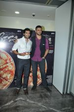 Arunoday Singh, Akshay Oberoi at Pizza 3d trailor launch in Mumbai on 21st May 2014 (30)_537d6748cc2ff.JPG