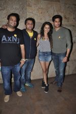 Sidharth Malhotra, Shraddha Kapoor, Mohit Suri at Ek Villain screening in Lightbox, Mumbai on 21st May 2014 (29)_537d6f88cc0f4.JPG