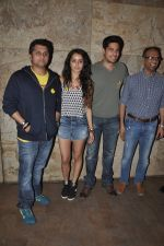 Sidharth Malhotra, Shraddha Kapoor, Mohit Suri at Ek Villain screening in Lightbox, Mumbai on 21st May 2014 (33)_537d6f89c2a83.JPG