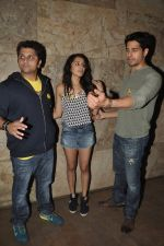 Sidharth Malhotra, Shraddha Kapoor, Mohit Suri at Ek Villain screening in Lightbox, Mumbai on 21st May 2014 (36)_537d6f8a48661.JPG