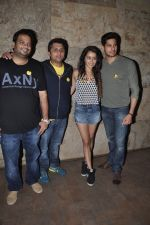 Sidharth Malhotra, Shraddha Kapoor, Mohit Suri at Ek Villain screening in Lightbox, Mumbai on 21st May 2014 (38)_537d6f8abf435.JPG