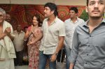 Akkineni Nagarjuna Family at sai baba Temple on 22nd May 2014 (20)_537ef3c9d18a9.jpg
