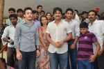 Akkineni Nagarjuna Family at sai baba Temple on 22nd May 2014 (30)_537ef3ce98b60.jpg