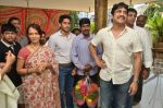 Akkineni Nagarjuna Family at sai baba Temple on 22nd May 2014 (40)_537ef3d31e846.jpg