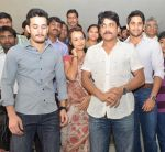 Akkineni Nagarjuna Family at sai baba Temple on 22nd May 2014 (43)_537ef3d4d8e81.jpg