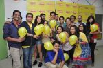 Sidharth Malhotra, Shraddha Kapoor and Mohit Suri at Radio Mirchi Mumbai studio for promotion of Ek Villain on 23rd May 2014 (11)_538091d53b244.JPG