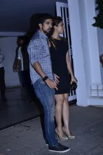 Huma Qureshi, Saqib Saleem at Karan Johar bday bash in Mumbai on 24th May 2014 (98)_5381c4ba377cf.JPG