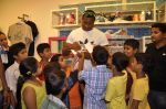 Keron Pollard promotes Addidas with kids in Palladium, Mumbai on 24th May 2014 (36)_5381c21fb3934.JPG