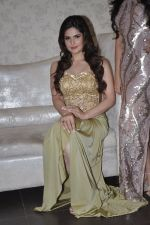 Zarine Khan at Amy Billimoria store in Santacruz, Mumbai on 28th May 2014 (111)_53870a00cd121.JPG