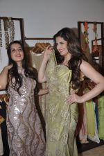 Zarine Khan at Amy Billimoria store in Santacruz, Mumbai on 28th May 2014 (121)_53870a05e85f8.JPG