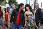 Saif Ali Khan  and Tamannaah in Callertune in the still from movie Humshakals