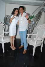 Abhishek Rawat, Vinita Joshi at Bhatak Lena Bawre serial bash at Villa 69 in Mumbai on 2nd June 2014 (114)_538d5f4a5bb42.JPG