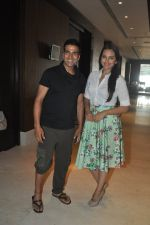 Sonakshi Sinha and Akshay Kumar snapped at Novotel on 2nd June 2014 (12)_538d5e3b73d99.JPG