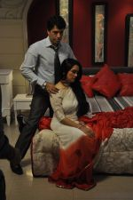 Sooraj Thapar, Padmini Kolhapure on sets of Ekk Nayi Pehchaan for Sony in Filmcity, Mumbai on 2nd June 2014 (32)_538d8a2f99f3b.JPG