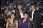 Akshay Kumar, Sonakshi Sinha, Karan Johar, Madhuri Dixit, remo D Souza promote Holiday on the sets of Jhalak Dikhhla Jaa Season 7 in Filmistan on 4th June 2014 (104)_53901915ae2c6.JPG
