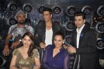 Akshay Kumar, Sonakshi Sinha, Karan Johar, Madhuri Dixit, remo D Souza promote Holiday on the sets of Jhalak Dikhhla Jaa Season 7 in Filmistan on 4th June 2014 (88)_539018cda0a28.JPG