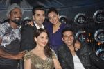 Akshay Kumar, Sonakshi Sinha, Karan Johar, Madhuri Dixit, remo D Souza promote Holiday on the sets of Jhalak Dikhhla Jaa Season 7 in Filmistan on 4th June 2014 (89)_539018e76a877.JPG