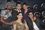 Akshay Kumar, Sonakshi Sinha, Karan Johar, Madhuri Dixit, remo D Souza promote Holiday on the sets of Jhalak Dikhhla Jaa Season 7 in Filmistan on 4th June 2014 (91)_53901914a0a96.JPG