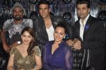 Akshay Kumar, Sonakshi Sinha, Karan Johar, Madhuri Dixit, remo D Souza promote Holiday on the sets of Jhalak Dikhhla Jaa Season 7 in Filmistan on 4th June 2014 (99)_5390194f8ce03.JPG