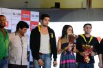 Sidharth Malhotra, Shraddha Kapoor, Riteish Deshmukh, Mohit Suri at Ek Villian music concert in Mumbai on 4th June 2014 (131)_53901b7f3be28.JPG