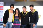Sidharth Malhotra, Shraddha Kapoor, Riteish Deshmukh, Mohit Suri at Ek Villian music concert in Mumbai on 4th June 2014 (139)_53901b8054abc.JPG