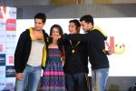 Sidharth Malhotra, Shraddha Kapoor, Riteish Deshmukh, Mohit Suri at Ek Villian music concert in Mumbai on 4th June 2014 (142)_53901b80d7932.JPG