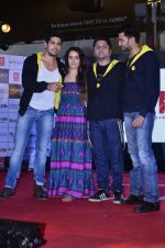 Sidharth Malhotra, Shraddha Kapoor, Riteish Deshmukh, Mohit Suri at Ek Villian music concert in Mumbai on 4th June 2014 (51)_53901a487fa46.JPG