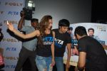 Mohit Marwah, Kiara Advani, Arfi Lamba at the Promotion of Fugly at PETA on 5th June 2014 (44)_53918bc32b8d6.JPG