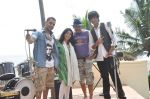 Palash Muchhal at the shoot for the film What The Fark in Madh on 8th June 2014 (65)_53957b895e7dd.JPG