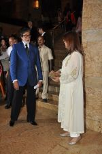 Zeenat Amna, Amitabh bachchan at the Launch of Dilip Kumar_s biography The Substance and The Shadow in Grand Hyatt, Mumbai on 9th June 2014 (173)_5397386ddc257.JPG