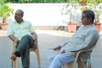 Sachin Khedekar, Darshan Jariwala on the sets of Bezubaan in Madh on 10th June 2014 (29)_53981df563bb9.JPG