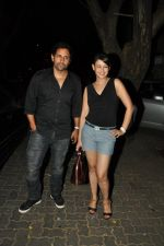 Preeti Jhangiani, Pravin Dabas at Ek Villain success bash in Ekta Kapoor_s Home on 11th June 2014 (54)_539974c32d1b8.JPG