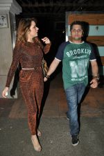 Udita Goswami, Mohit Suri at Ek Villain success bash in Ekta Kapoor_s Home on 11th June 2014 (34)_539975e5aecfe.JPG