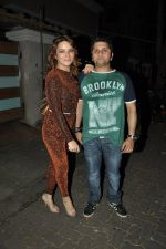 Udita Goswami, Mohit Suri at Ek Villain success bash in Ekta Kapoor_s Home on 11th June 2014 (36)_539975e64c4c7.JPG
