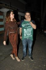Udita Goswami, Mohit Suri at Ek Villain success bash in Ekta Kapoor_s Home on 11th June 2014 (35)_539975c922a3b.JPG