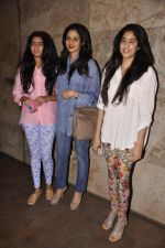 Khushi Kapoor, Sridevi, Jhanvi Kapoor at Mohit Marwah_s screening for Fugly in Mumbai on 12th June 2014 (40)_539a9f7a2a221.jpg
