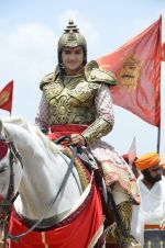 Faisal Khan at Maharana Pratap serial on location in Umergaon, Mumbai on 13th June 2014 (17)_539bb52ce1731.JPG