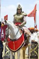 Faisal Khan at Maharana Pratap serial on location in Umergaon, Mumbai on 13th June 2014 (18)_539bb52d75afc.JPG