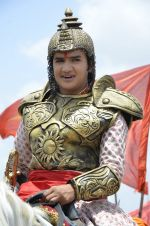 Faisal Khan at Maharana Pratap serial on location in Umergaon, Mumbai on 13th June 2014 (19)_539bb53e514ef.JPG