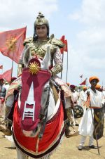 Faisal Khan at Maharana Pratap serial on location in Umergaon, Mumbai on 13th June 2014 (20)_539bb52e12e20.JPG