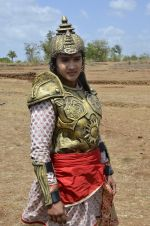 Faisal Khan at Maharana Pratap serial on location in Umergaon, Mumbai on 13th June 2014 (27)_539bb531cf431.JPG