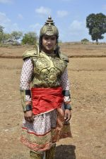 Faisal Khan at Maharana Pratap serial on location in Umergaon, Mumbai on 13th June 2014 (28)_539bb53254a99.JPG
