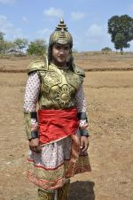 Faisal Khan at Maharana Pratap serial on location in Umergaon, Mumbai on 13th June 2014 (29)_539bb5333d480.JPG