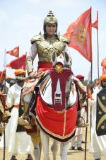 Faisal Khan at Maharana Pratap serial on location in Umergaon, Mumbai on 13th June 2014 (8)_539bb5287b290.JPG