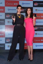 Diana Penty launching Micromax Mobile in Mumbai on 16th June 2014 (15)_53a0261e73a3d.JPG