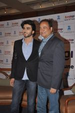 Imran Abbas, Bharat Ranga  at the launch of Zee_s _Zindagi_ channel in J W Marriott, Mumbai on 16th June 2014 (95)_53a0283231be0.JPG