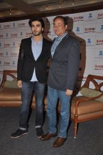 Imran Abbas, Bharat Ranga  at the launch of Zee_s _Zindagi_ channel in J W Marriott, Mumbai on 16th June 2014 (99)_53a02833a6427.JPG